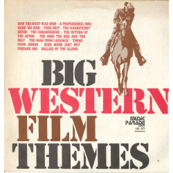 AA.VV. Lp Vinile Big Western Movie Themes / Music Parade Cetra LEL 277 Nuovo