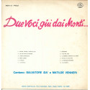 Salvatore Ida / Matilde Venneri Lp Vinile Due Voci Giu Dai Monti / Said Nuovo