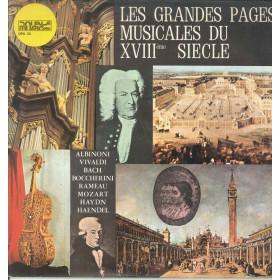 AA.VV. Lp Vinile Les Grandes Pages Musicales Du XVIIIeme Siecle / Cetra Nuovo