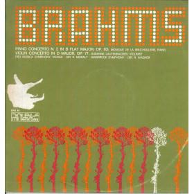 Brahms Lp Vinile Piano Concerto N 2 In B-Flat Major Op 83 / Cetra Nuovo