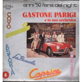 Gastone Parigi E La Sua Orchestra Lp Vinile Anni '50 L'Era Del Night N 8 Nuovo