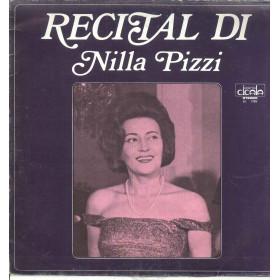 Nilla Pizzi Lp Vinile Recital Di Nilla Pizzi / Durium BL 7125 Cicala Sigillato
