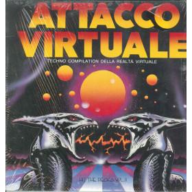 """AAVV Vinile 12"""" Attacco Virtuale Techno Compilation Della Realta Virtuale Nuovo"""