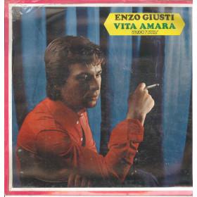 Enzo Giusti Lp Vinile Vita Amara / Studio 7 AGII38/LP Sigillato