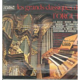Marie-Louise Girod Lp Vinile Les Grandes Classiques de l Orgue Sigillato