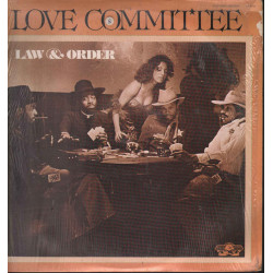 Love Committee ‎Lp Vinile Law And Order / Gold Mind Records ‎GA 9500 Sigillato