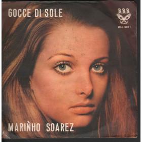 """Marinho Soares Vinile 45 giri 7"""" Gocce Di Sole / Sorongo B.B.B. BSB-0011 Nuovo"""