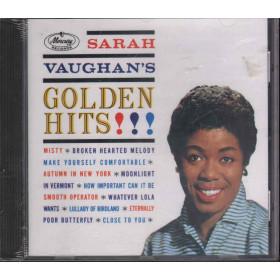 Sarah Vaughan CD Sarah Vaughan's Golden Hits / Mercury 824 891-2 Sigillato