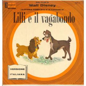 La Storia Completa E Le Canzoni Lilli e il Vagabondo Lp Vinile Disneyland Nuovo