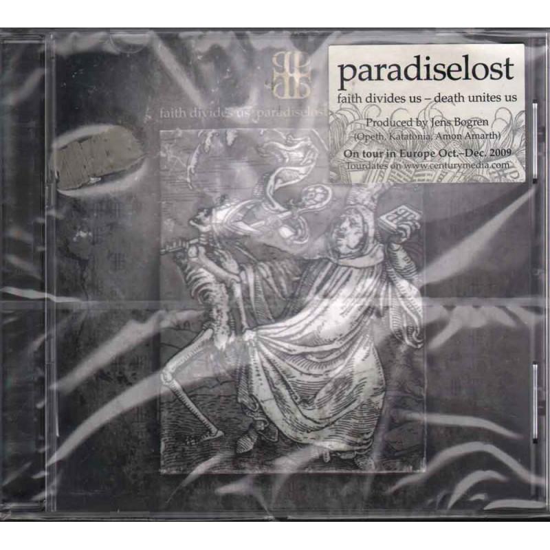 Paradise Lost CD Faith Divides Us - Death Unites Us Sigillato 5051099794023