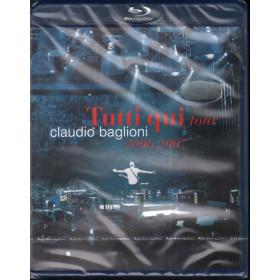 Claudio Baglioni BRD Blu Ray Tutti Qui Tour 2006 2007 / Columbia Sigillato
