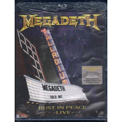 Megadeth ‎‎BRD Blu Ray Rust In Peace Live / Universal Music DVD Video ‎Sigillato