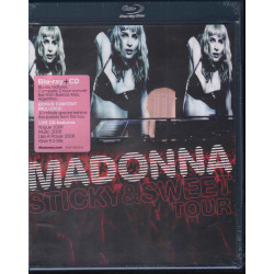 Modonna ‎‎BRD Blu Ray CD Sticky & Sweet Tour / Warner Bros Records ‎Sigillato