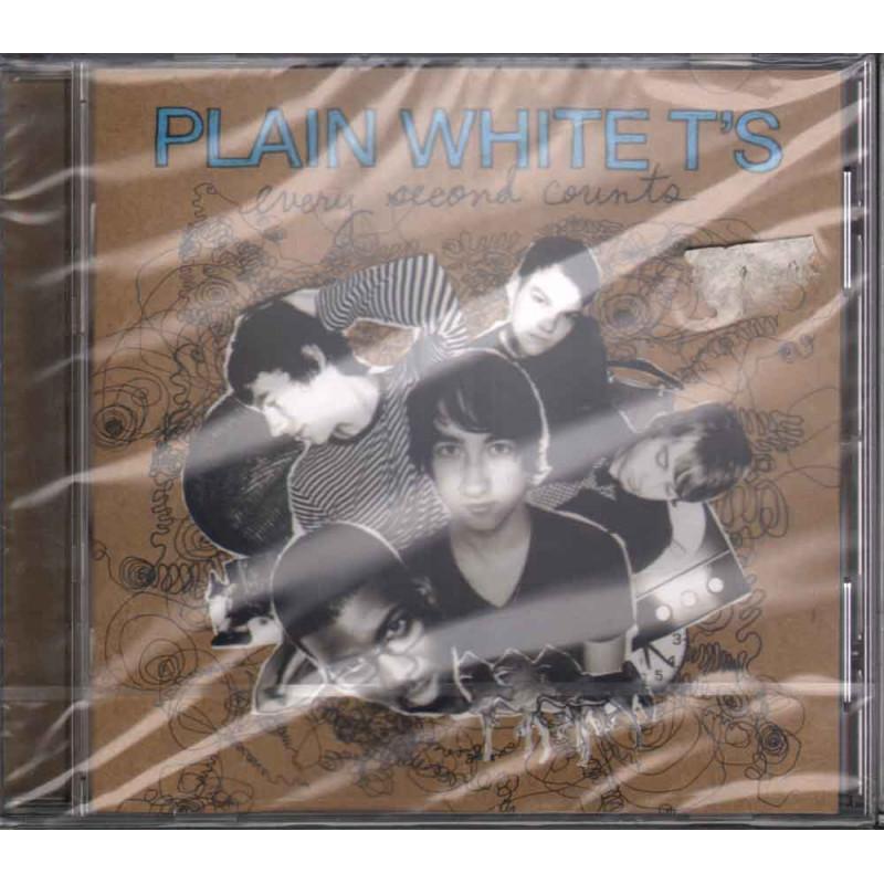 Plain White T's CD Every Second Counts Nuovo Sigillato 5099950616220