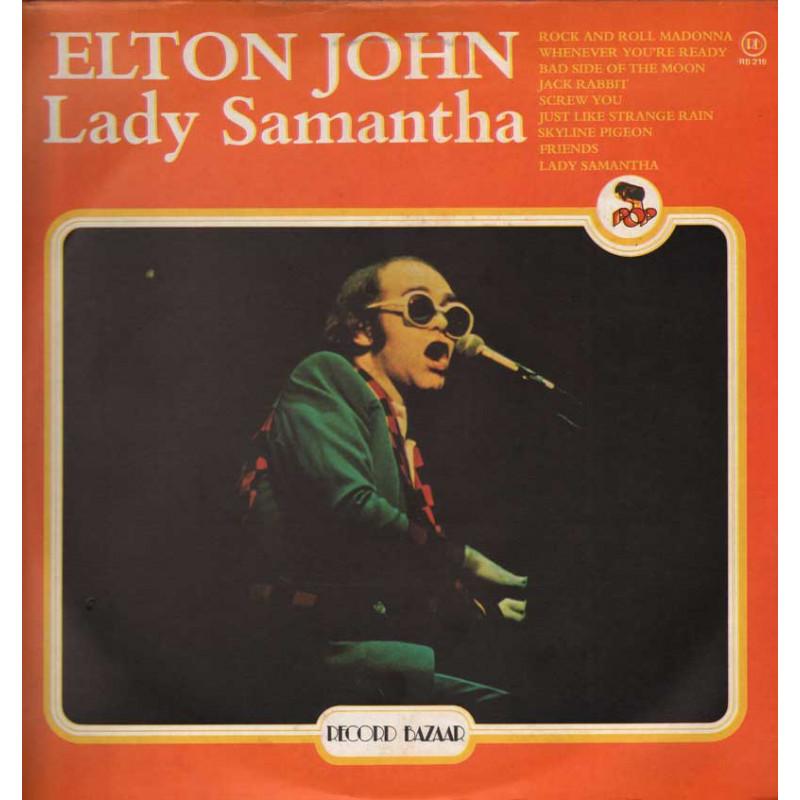 Elton John Lp 33giri Lady Samantha Nuovo
