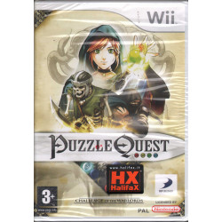Puzzle Quest Challenge Of The Warlords WII Halifax / D3 Sigillato
