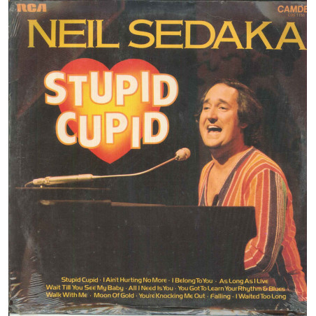 Neil Sedaka Lp Vinile Stupid Cupid / Camden CDS 1156 Sigillato