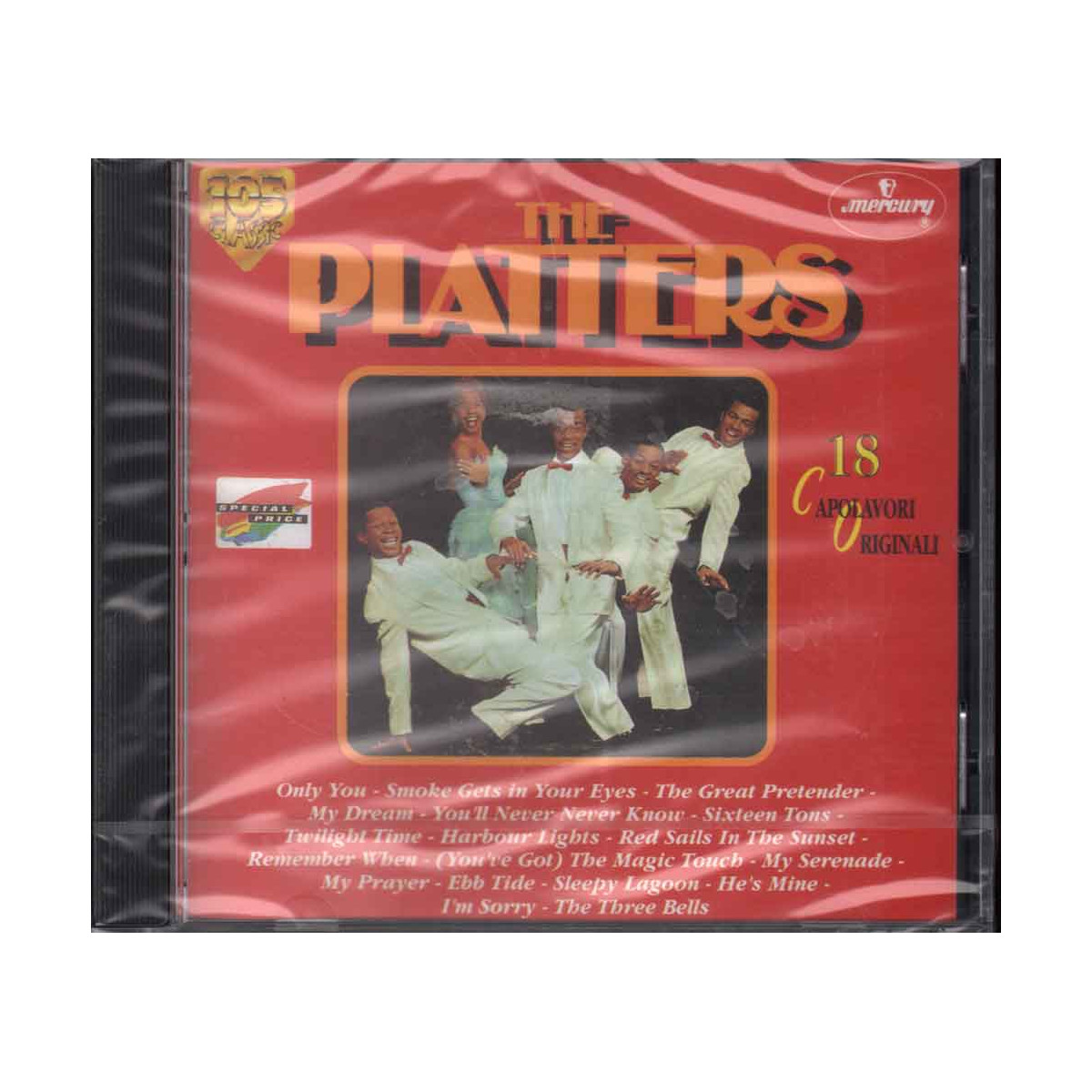 The Platters CD 18 Capolavori Originali Nuovo Sigillato 0042284836029
