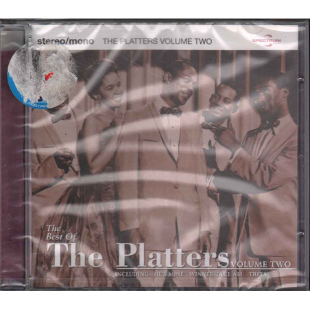The Platters CD The Best Of Volume 2 / Spectrum Music Sigillato 0731454432122