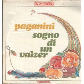 Gallino Lp Vinile Paganini / Sogno Di un Valzer Fonit Cetra Special 3000FC Nuovo