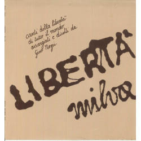 Milva Lp Vinile Liberta / Ricordi SMRL 6172 Nuovo
