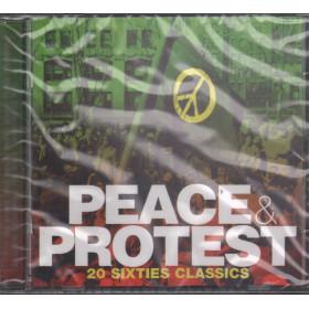 AA.VV. CD Peace & Protest / Crimson CRIMCD318 Sigillato