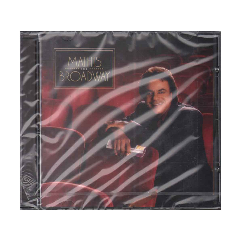 Johnny Mathis CD Mathis On Broadway Nuovo Sigillato 5099749531321