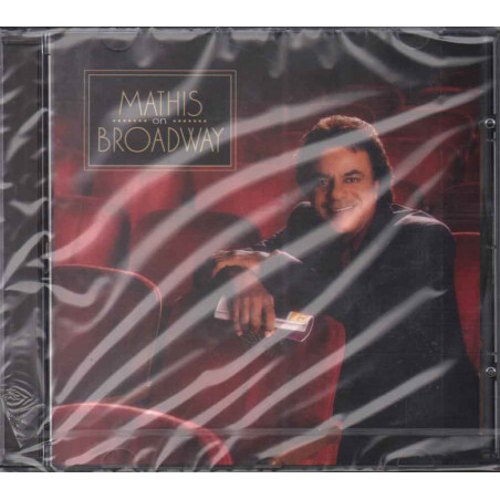 Johnny Mathis CD Mathis On Broadway / Columbia Sigillato 5099749531321