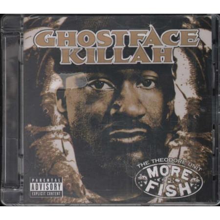 Ghostface Killah CD More Fish / Def Jam Recordings Sigillato 0602517169432