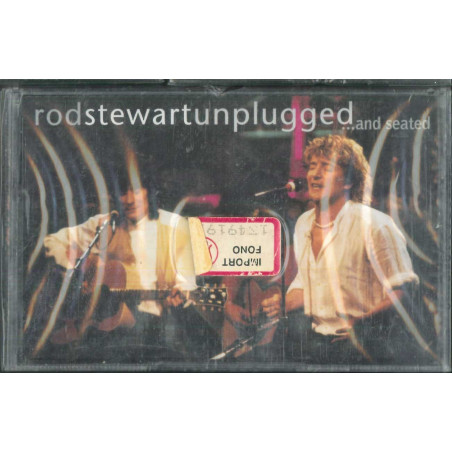 Rod Stewart MC7 Unplugged ...And Seated ‎/ Warner Bros ‎– 9362-45289-4 Sigillata