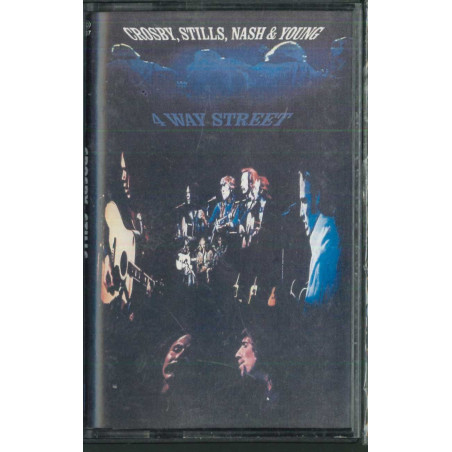 Crosby, Stills, Nash & Young 2x MC7 4 Way Street ‎/ Atlantic ‎82408-4 Sigillata