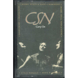 Crosby, Stills & Nash 2x MC7 Carry On / Atlantic ‎– 7567-80487-4 Sigillata
