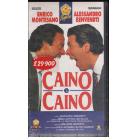 Caino E Caino VHS Alessandro Benvenuti / Enrico Montesano Penta Video Sigillata