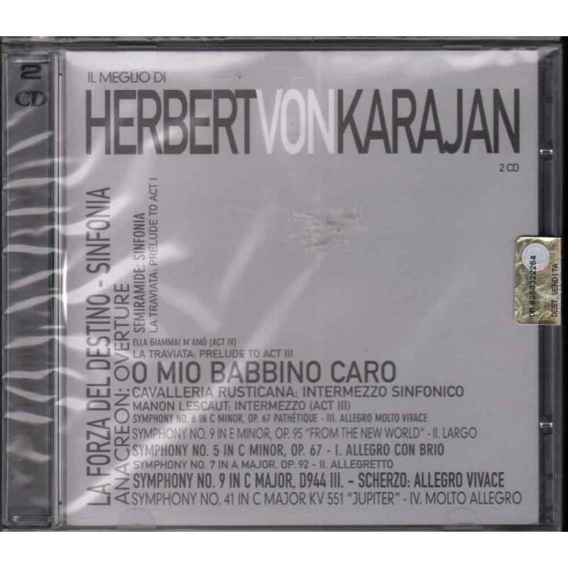 Herbert Von Karajan CD Il Meglio Di Herbert Von Karajan Sigillato 8032484063556