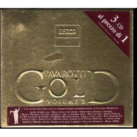Luciano Pavarotti Box 3 CD Pavarotti Gold Vol. 2 Nuovo Sigillato 0028948024605