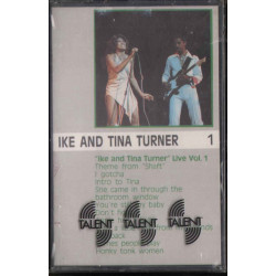 Ike & Tina Turner ‎‎‎‎MC7 Live Volume 1 / Liberty - 54 1832584 Sigillata