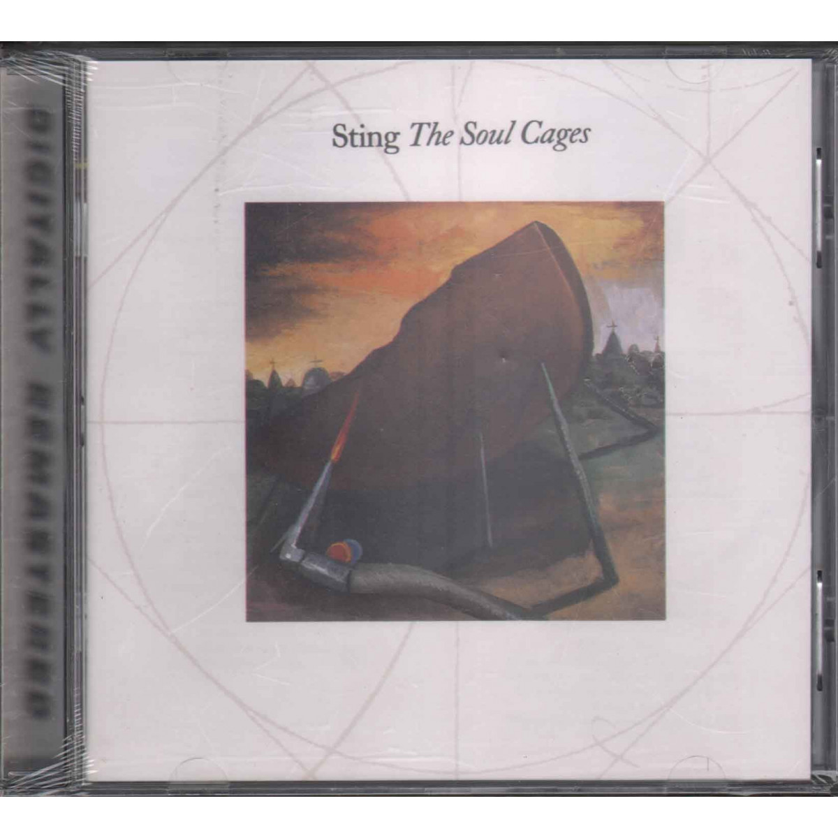 Sting CD The Soul Cages / A&M Records 540 996 2 The Sting Remasters Sigillato