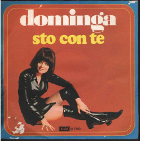 """Dominga Vinile 7"""" Sto Con Te / Una Ragazza Sola Decca C 17013 Nuovo"""