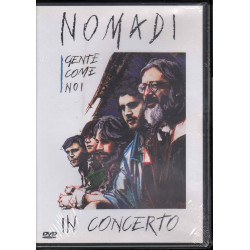 Nomadi ‎DVD Gente Come Noi In Concerto / Warner Music 9031 76573-2 Sigillato