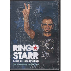 Ringo Starr And His All-Starr Band ‎DVD Live At The Greek Theatre Sigillato
