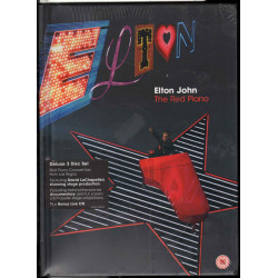 Elton John ‎DVD CD The Red Piano Concert Deluxe Editon ‎/ Redline Sigillato