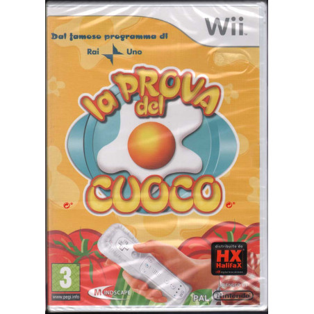 La Prova Del Cuoco Videogioco WII Nuovo Sigillato 5390102502669