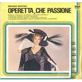 Miranda Martino Lp Vinile Operetta Che Passione RCA NL 33185 Linea TRE Sigillato