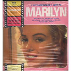 Marilyn Monroe Lp Vinile L'Intramontabile Mito Di / RCA Cinema Tre Sigillato