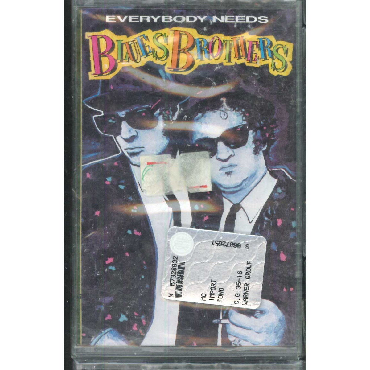 The Blues Brothers MC7 Everybody Needs / WEA 2292-41379-4 Sigillata