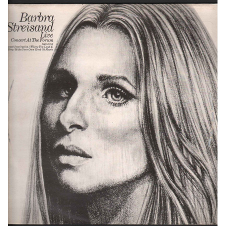 Barbra Streisand Lp Vinile Live Concert At The Forum / CBS 465563 1 Nuovo