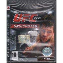 UFC Undisputed 2009 Playstation 3 PS3 THQ Sigillato