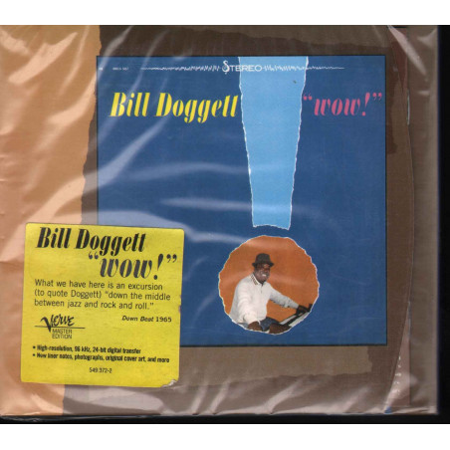 Bill Doggett CD Wow / Verve Records – 549 372-2 Sigillato