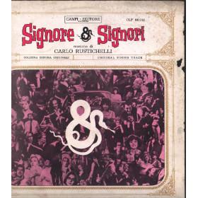 Carlo Rustichelli LP Vinile Signore & Signori / Campi-Editore CLP 100-013 Nuovo