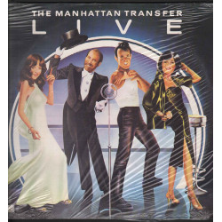 The Manhattan Transfer Lp Vinile Live / Atlantic ‎ATL 50 540 Sigillato